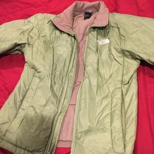 Green coat great condition